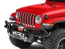 RedRock 4x4 Crawler-Max Full Width Front Bumper w/ Winch Mount (18-19 Jeep Wrangler JL)