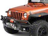 RedRock 4x4 Crawler-Max Full Width Front Bumper w/ Winch Mount (07-18 Jeep Wrangler JK)
