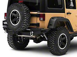 RedRock 4x4 Crawler Rear Bumper with LED Fog Lights (07-18 Jeep Wrangler JK)