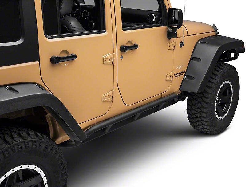RedRock 4x4 HD Rocker Guards (07-18 Jeep Wrangler JK 4 Door)