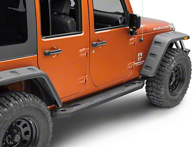 RedRock 4x4 Max-HD Rocker Steps (07-18 Jeep Wrangler JK 4 Door)