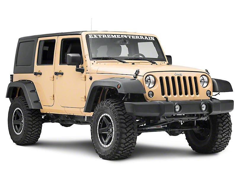 RedRock 4x4 8-Piece Crawler Light Guard Set (07-18 Jeep Wrangler JK)