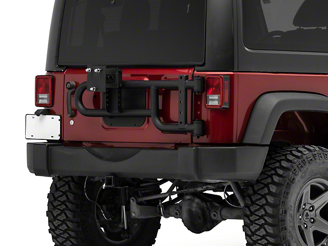 RedRock 4x4 HD Tire Carrier for OEM Tail Gate (07-18 Jeep Wrangler JK)