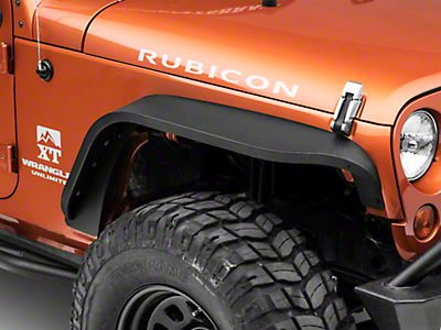 DV8 Off-Road Slim Fender Flares (07-18 Wrangler JK)