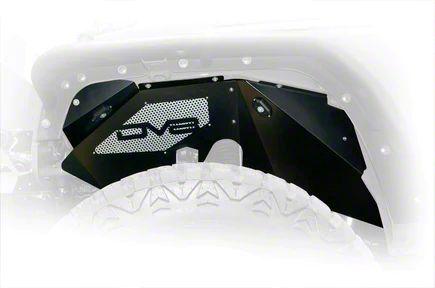 DV8 Off-Road Front Inner Fenders w/ LED Rock Lights (07-18 Jeep Wrangler JK)