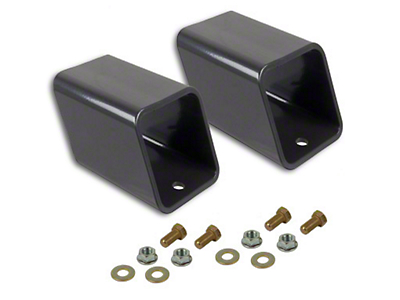 Synergy 4 in. Rear Bump Stop Spacer Kit (07-18 Jeep Wrangler JK)