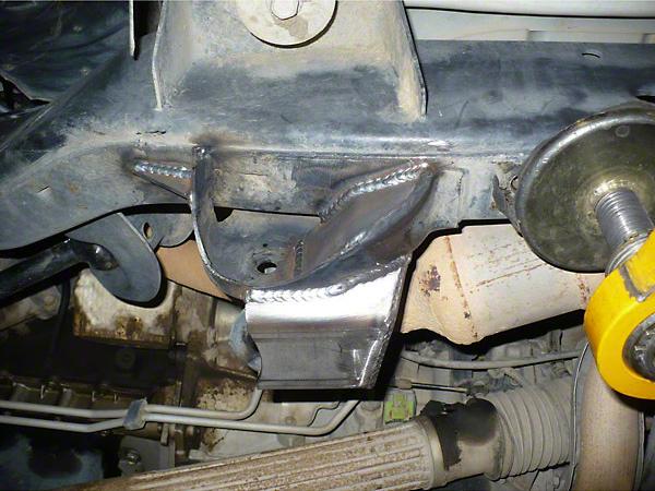 Synergy Frame Side Front Lower Control Arm Gusset Kit (07-18 Wrangler JK)