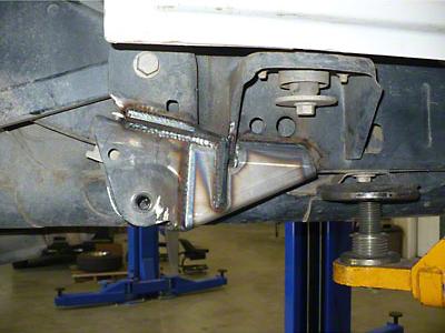 Synergy Frame Side Rear Lower Control Arm Gusset Kit (07-18 Wrangler JK)