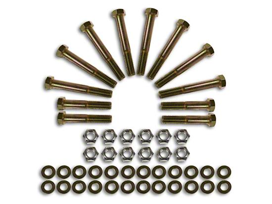 Synergy Lower Control Arm & Track Bar Hardware Kit (07-18 Jeep Wrangler JK)