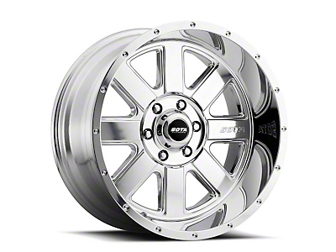 SOTA Off Road A.W.O.L. Polished Wheels (07-18 Wrangler JK; 2018 Wrangler JL)