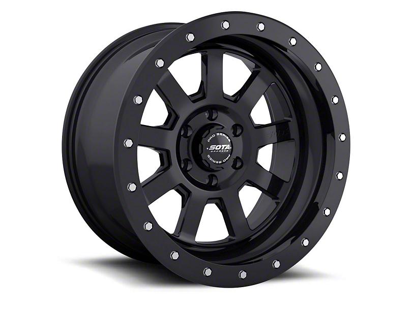 SOTA Off Road S.S.D. Stealth Black Wheels (07-18 Jeep Wrangler JK; 2018 Jeep Wrangler JL)