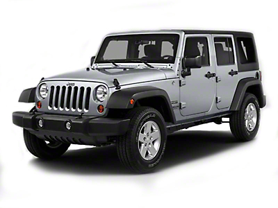 Black Horse Off Road Door Handle Covers - Black (07-18 Wrangler JK 4 Door)