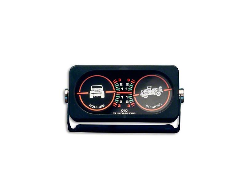 Smittybilt Clinometer I w/ Jeep Graphic