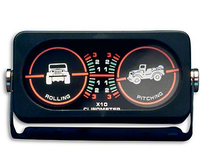 Smittybilt Clinometer I w/ Jeep Graphic