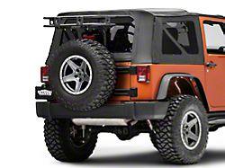 Smittybilt Defender Rack Tailgate Basket (07-18 Jeep Wrangler JK)