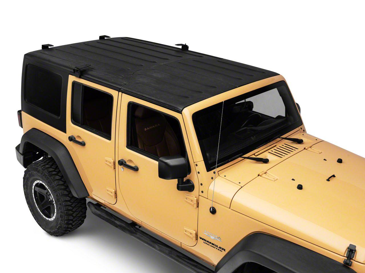 Smittybilt Jeep Wrangler Defender Rack Roof Mounting Kit Ds31 4 07 18 Jeep Wrangler Jk W Factory Hard Top