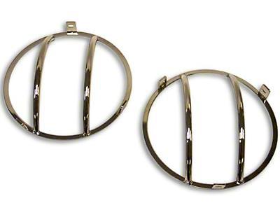 Smittybilt Euro Headlight Guards (97-06 Wrangler TJ)