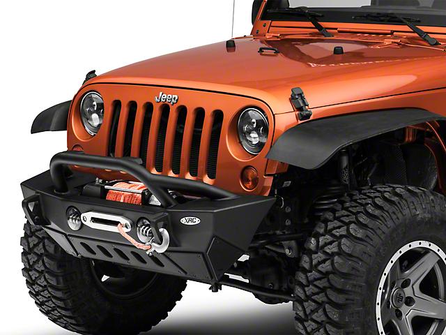 Smittybilt XRC Gen2 Front Bumper - Light Textured (07-18 Jeep Wrangler JK)