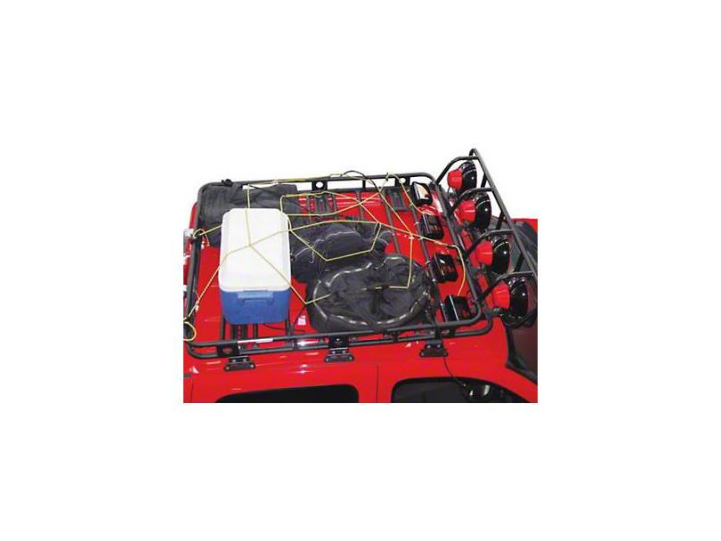 Smittybilt Largo Cargo Net (87-20 Jeep Wrangler YJ, TJ, JK & JL)