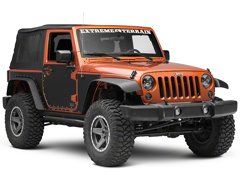 Smittybilt MAG Armor Magnetic Side Protection (07-18 Jeep Wrangler JK 2 Door)