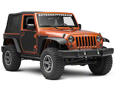 Smittybilt MAG Armor Magnetic Side Protection (07-18 Jeep Wrangler JK 2 Door)