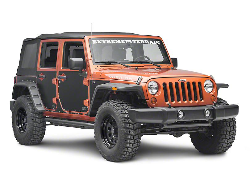 Smittybilt MAG Armor Magnetic Side Protection (07-18 Jeep Wrangler JK 4 Door)