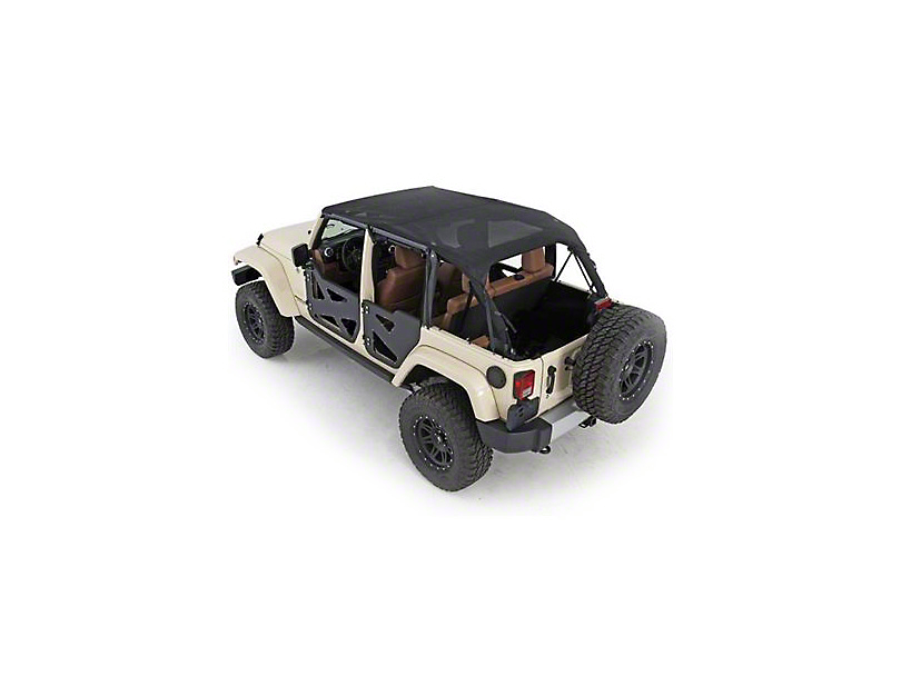 Smittybilt Mesh Extended Top (97-06 Jeep Wrangler TJ, Excluding Unlimited)