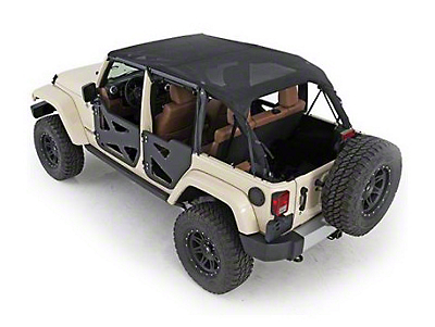 Smittybilt Mesh Extended Top (97-06 Wrangler TJ, Excluding Unlimited)