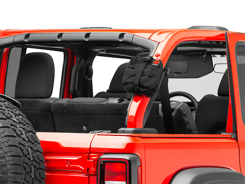 Smittybilt Jeep Wrangler First Aid Storage Bar Roll Bar