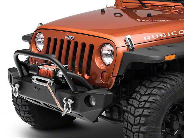 Smittybilt SRC Carbine Front Bumper (07-18 Jeep Wrangler JK)