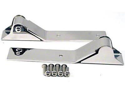 Smittybilt Tailgate Hinges - Stainless Steel (87-95 Wrangler YJ)