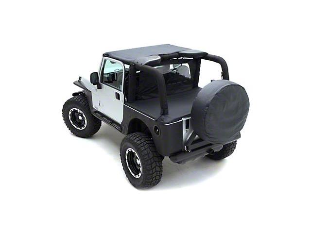 Smittybilt Tonneau Cover for OEM Soft Top - Denim Spice (92-95 Jeep Wrangler YJ)