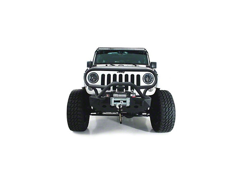 Smittybilt XRC Brush Guard for M.O.D. Bumper System (07-18 Jeep Wrangler JK)