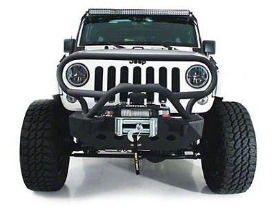 Smittybilt XRC Brush Guard for M.O.D. Bumper System (07-18 Wrangler JK)