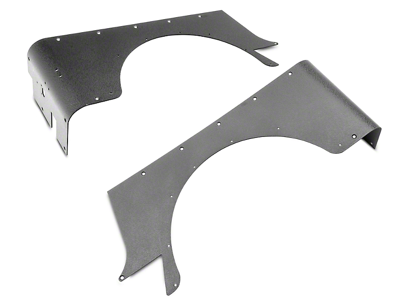 Smittybilt XRC Rear Corner Guards; Textured Black (87-95 Jeep Wrangler YJ)