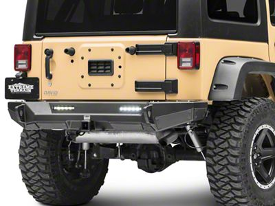 Smittybilt XRC Gen2 Rear Bumper - Light Textured (07-18 Jeep Wrangler JK)