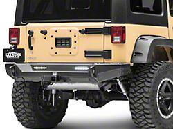 Smittybilt XRC Gen2 Rear Bumper - Light Textured (07-18 Jeep Wrangler JK)