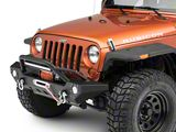 Barricade Adventure HD Front Bumper with LED Fog Lights and 20-Inch LED Light Bar (07-18 Jeep Wrangler JK)