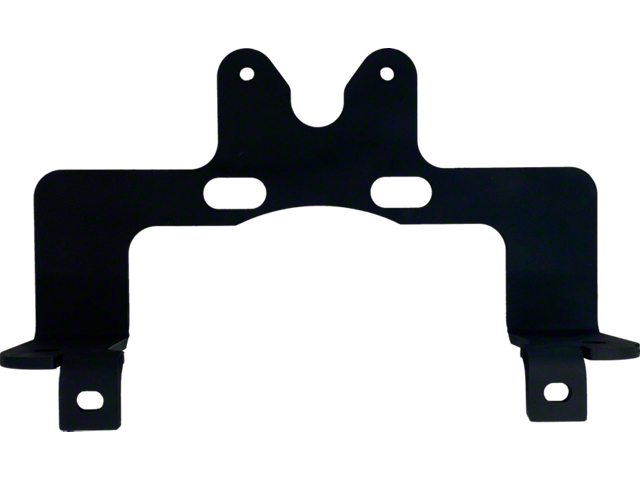 RedRock 4x4 Spare Tire Off-Road Light Mount Bracket (07-18 Jeep Wrangler JK)