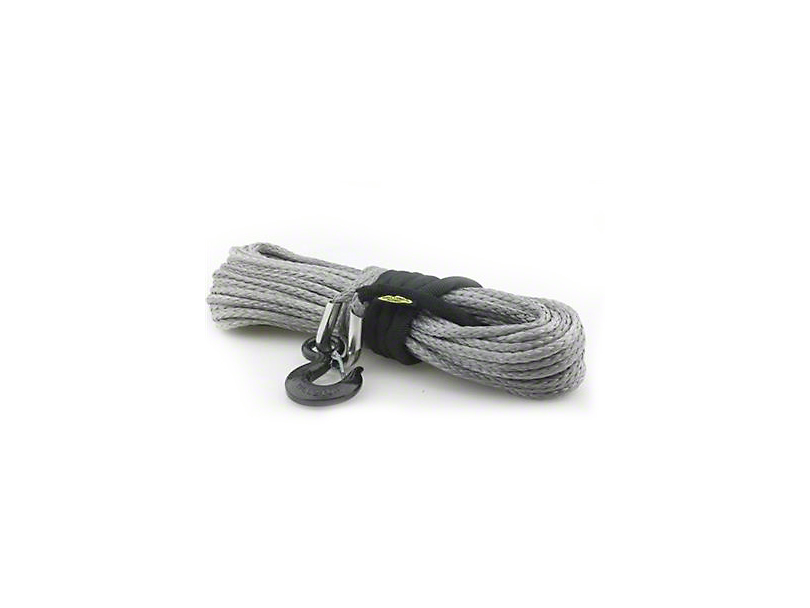 Smittybilt XRC 19/64 in. x 30 ft. Synthetic Rope - 4,000 lb.