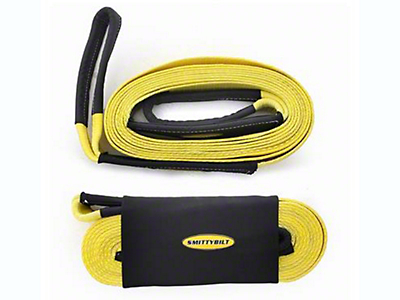 Smittybilt 2 in. x 20 ft. Recovery Tow Strap - 20,000 lb.