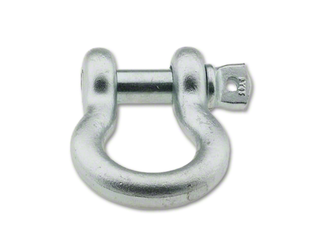 Smittybilt 1/2 in. 2 Ton D-Ring Shackle - Zinc