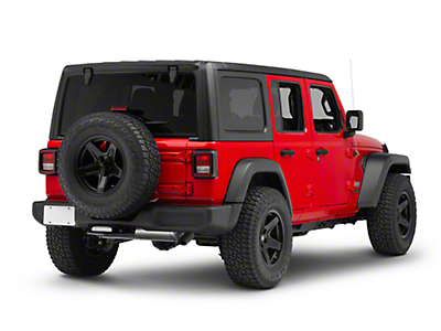 Smittybilt Beaver 2 in. Receiver Hitch Step (87-18 Jeep Wrangler YJ, TJ, JK & JL)