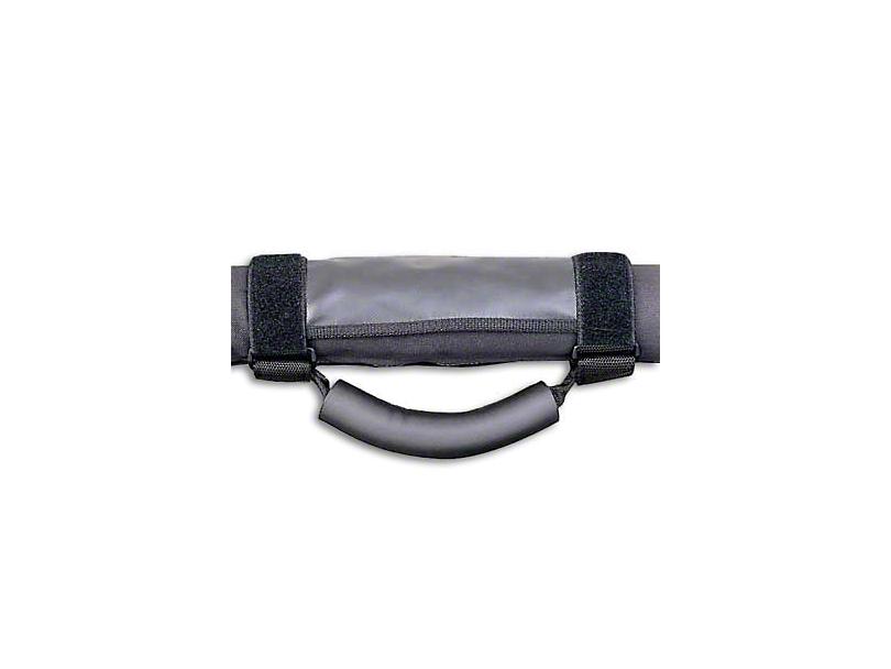 Smittybilt Deluxe Grab Handles - Black (87-18 Jeep Wrangler YJ, TJ, JK & JL)