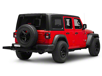 Smittybilt 2 in. Receiver Hitch Rack - 20 in. x 60 in. (87-18 Jeep Wrangler YJ, TJ, JK & JL)