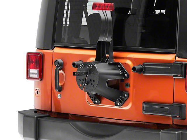 Smittybilt License Plate Relocation Bracket (87-19 Jeep Wrangler YJ, TJ, JK & JL)