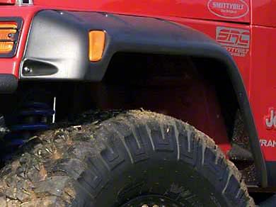 Smittybilt 6 in. Rear Fender Flares (87-95 Jeep Wrangler YJ)