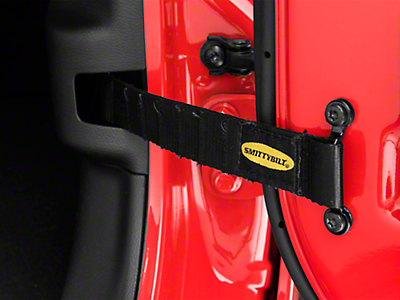 Smittybilt Adjustable Door Straps (87-18 Jeep Wrangler YJ, TJ, JK & JL)