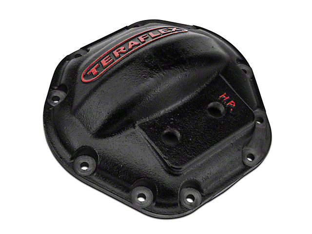 Teraflex CRD50R And Dana 44 HD Differential Cover (87-18 Wrangler YJ, TJ, JK & JL)