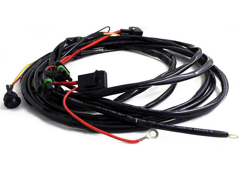 Baja Designs OnX6/S8/XL LED Light Bar Wire Harness for 2 Lights